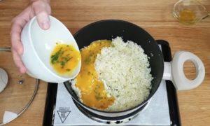 risoto com arroz de couve flor - passo 5
