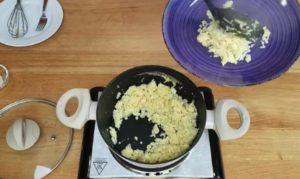 risoto com arroz de couve flor - passo 6