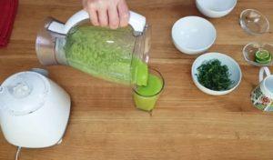 suco verde para aumentar a imunidade - passo 2