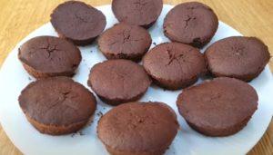 olo de chocolate low carb molhadinho - Passo 2