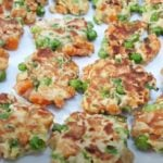 Receita de panqueca fit de ervilha e cenoura