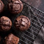 Receita de muffin de chocolate