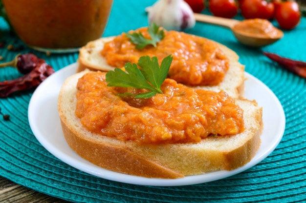 Patê vegano de cenoura e abobrinha