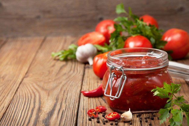 patê de tomate