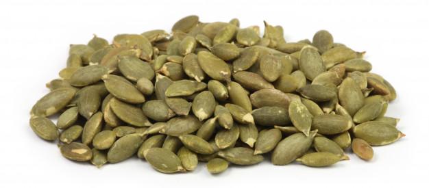 sementes de abóbora sem casca