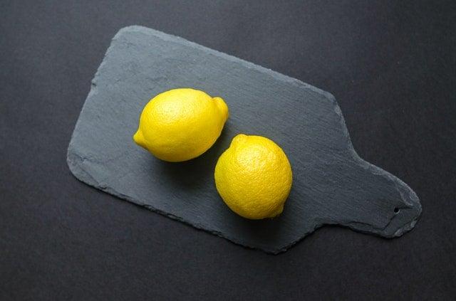 Receita com limão siciliano