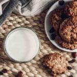 Receita fácil de cookie com farinha de maçã caseiro!