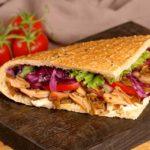 Receita de sanduíche de frango ao curry light rápido!