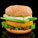 Receita de hambúrguer vegetariano de grão-de-bico!