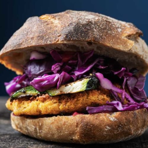 Hambúrguer vegetarianp