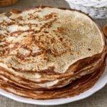 Receita de panqueca low carb com farinha de chia