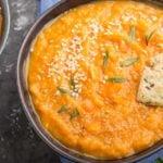 Receita incrível de sopa de batata doce termogênica!