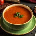 Receita de sopa de tomate light cheia de sabor!