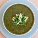 Receita de sopa de espinafre light - Prática e saudável!