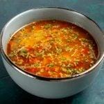 Receita de sopa light de legumes saudável e pouco calórica!