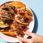 Receita de tacos vegetarianos - Delícia saudável!