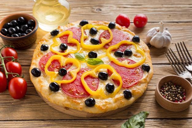 Pizza com pimentão