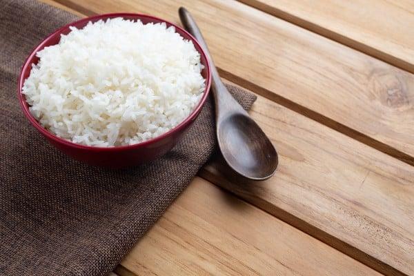 arroz basmati cozido