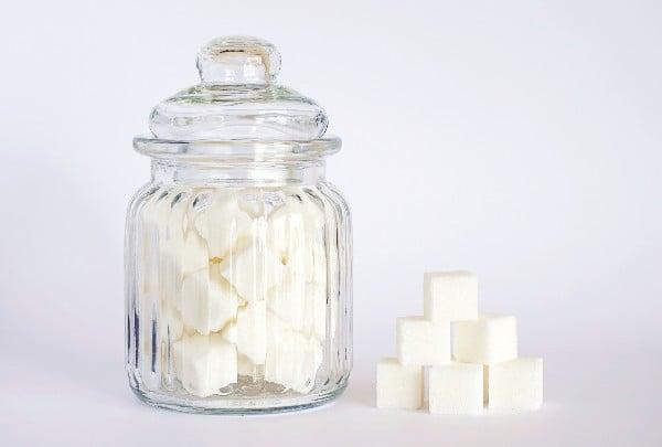Mungunzá engorda - açúcar