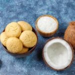 Receita de biscoito de coco light fácil de fazer