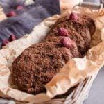Receita de biscoito de chocolate sem lactose e sem glúten