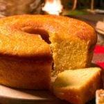 Receita de bolo de farinha de milho light e sem glúten