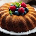 Receita de bolo com farinha de amêndoas light sem açúcar
