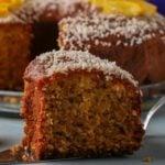 Receita de bolo com farinha de coco saudável e nutritivo