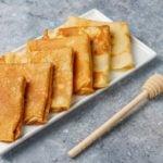 Receita de panqueca com batata doce em pó sem glúten