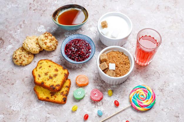 Alimentos com alto índice glicêmico