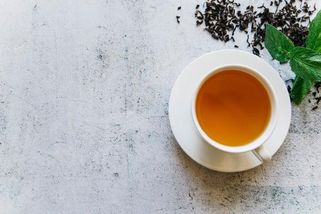Chá de menta simples