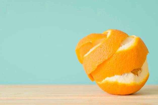 laranja descascada