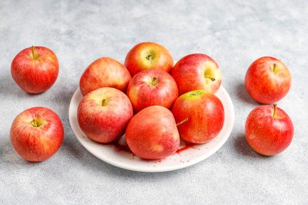 maçã ajuda a ganhar massa muscular