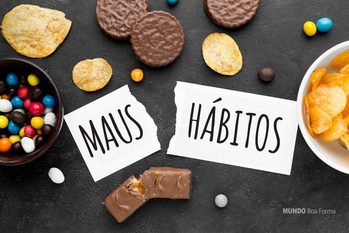 maus hábitos e radicais livres