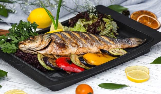 Fontes de gorduras boa- peixes