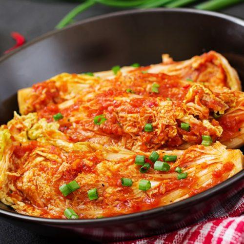 Prato de kimchi