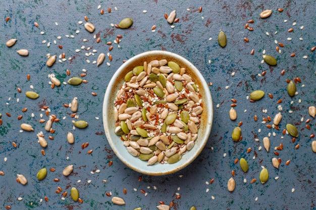 sementes e grãos