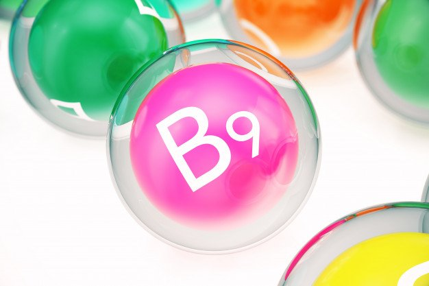 O ácido fólico também é conhecido como vitamina B9