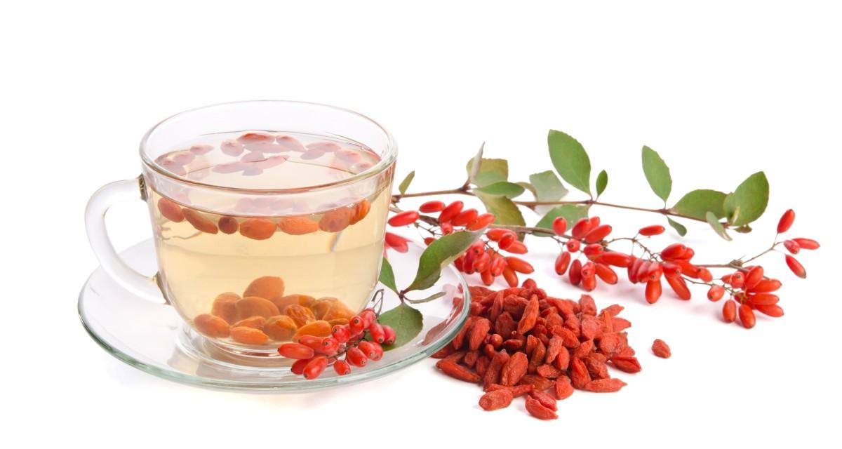 Chá de goji berry