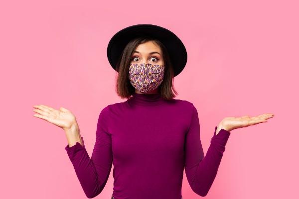 Máscara de pano