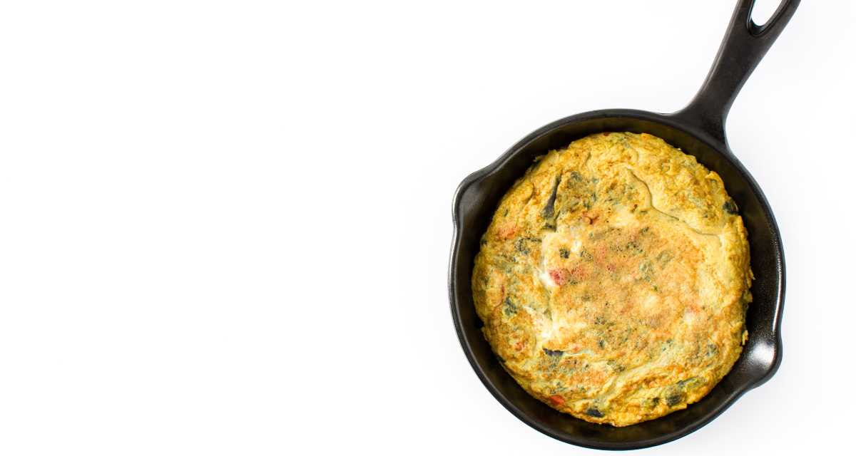 Omelete de sardinha