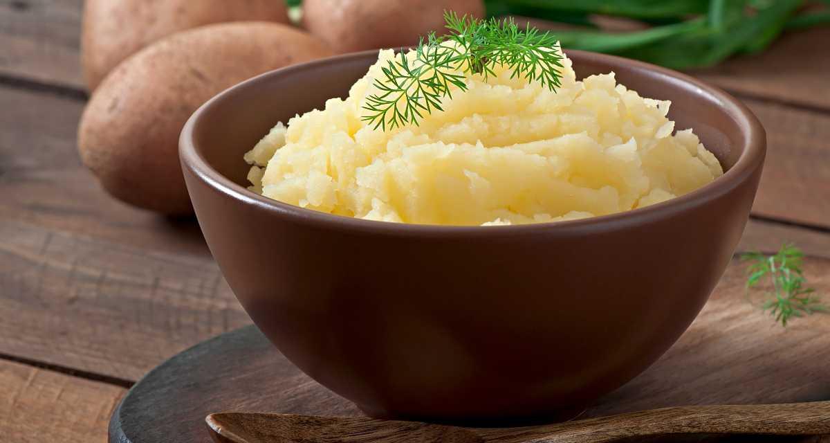 Purê de batata doce