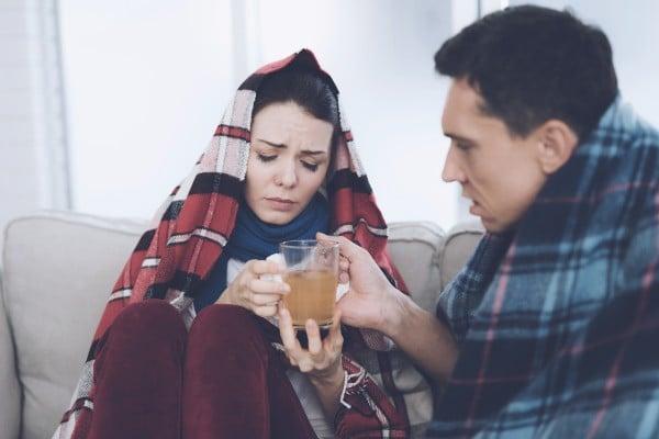 chá para bronquite