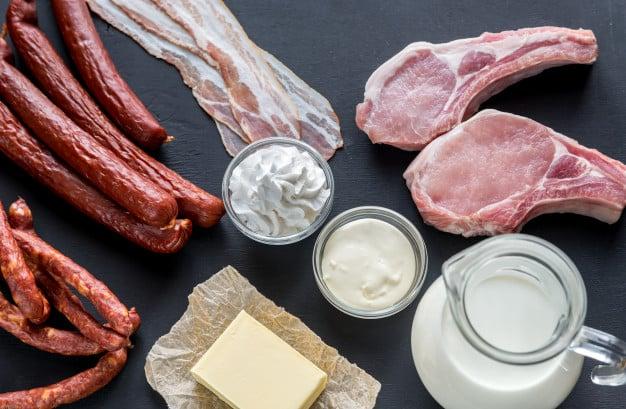 Alimentos que são fonte de gorduras saturadas