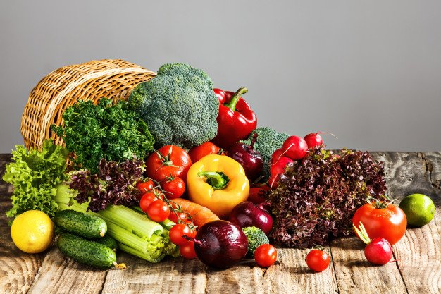 vegetais e legumes