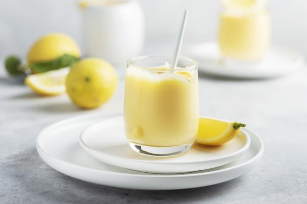 mousse de limão com whey protein