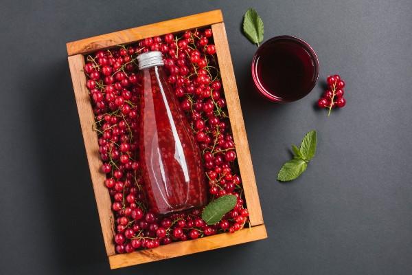 suco de cranberry