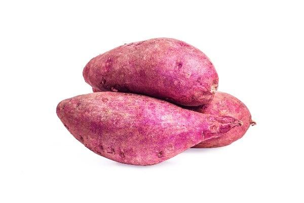 Batata doce - vegetais ricos em cálcio