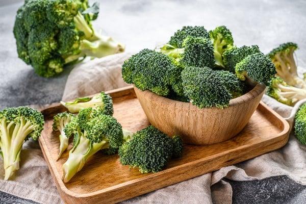 Brócolis - vegetais ricos em ferro