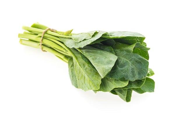 Couve - vegetais ricos em cálcio